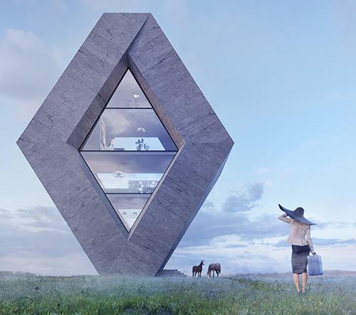 Wamhouse Studio pretváří známe loga značek v návrhy staveb