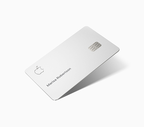 Apple Card je virtuální i titanová platební karta s minimalistickým designem