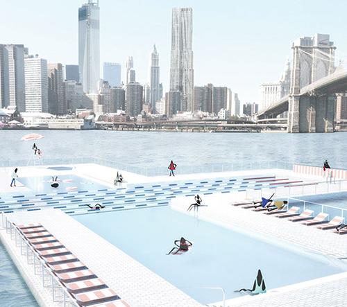 + POOL chce, aby lidé plavali v řece v New Yorku