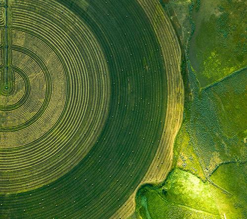 Mitch Rouse fotí dechberoucí snímky americké krajiny z ptačí perspektivy