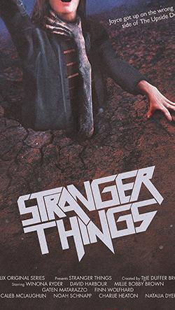 Netflix vzdává hold sci-fi filmům z osmdesátých let s návrhy plakátů k seriálu Stranger Things