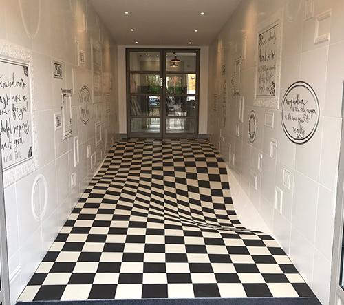 Casa Ceramica navrhla dlaždice jako optickou iluzi
