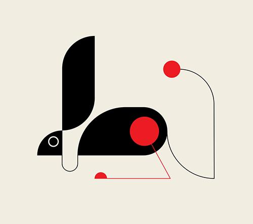 Studio TRÜF Creative představuje nápadité geometrické ilustrace zvířat